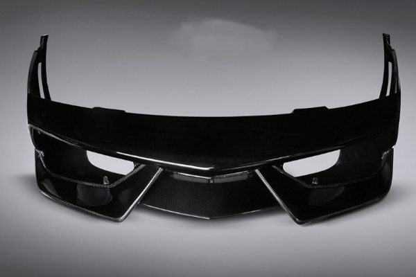 Prepreg technology Carbon Fiber Auto parts Front bumper Splitter (Autoclave process)