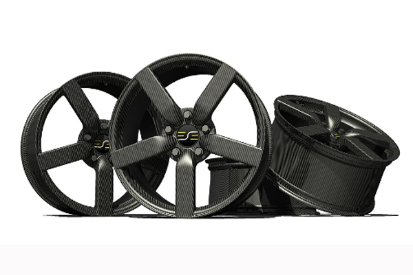 Performance Prepreg Carbon fibre car wheels(Autoclave process)