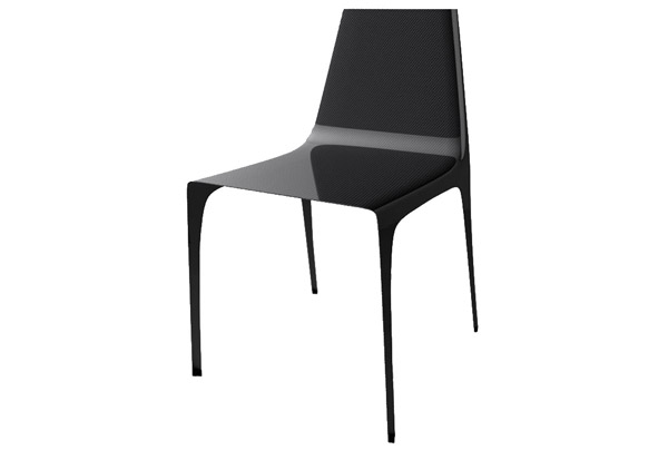 Prepreg Carbon fiber furniture, Carbon fiber shell chairs  (Autoclave)